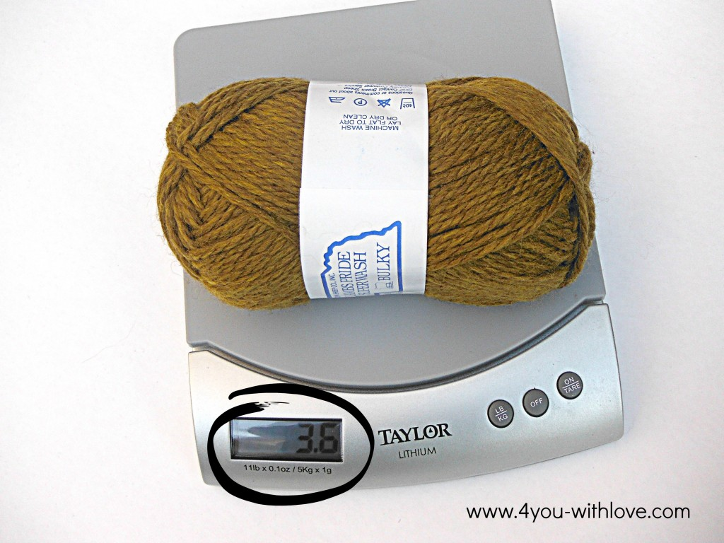 Knitting tips planning your yarn new skein on scale