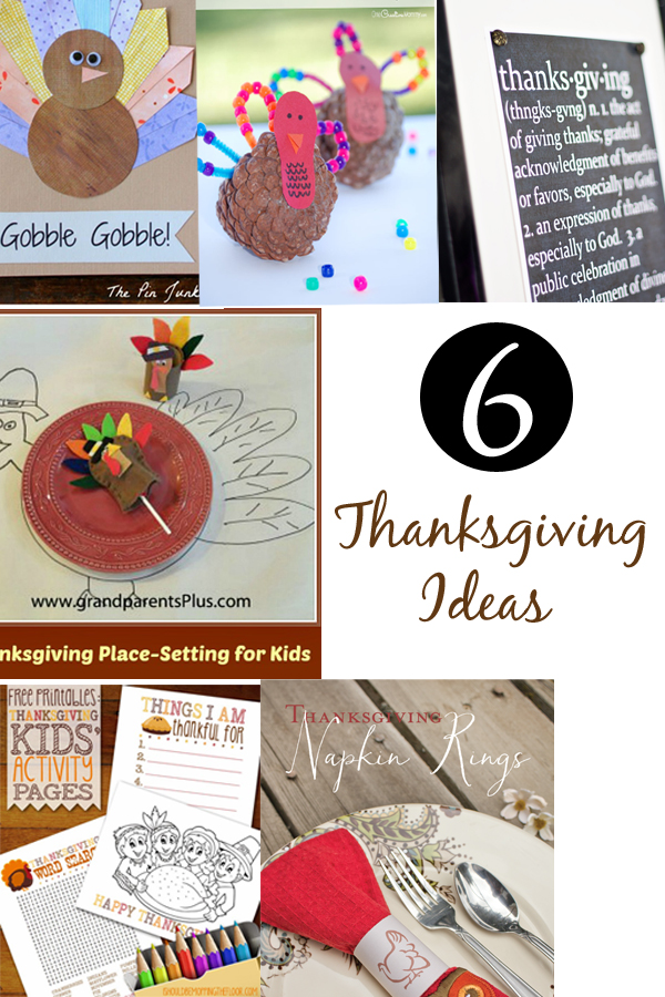 6 Thanksgiving Ideas & The Project Stash Link Party