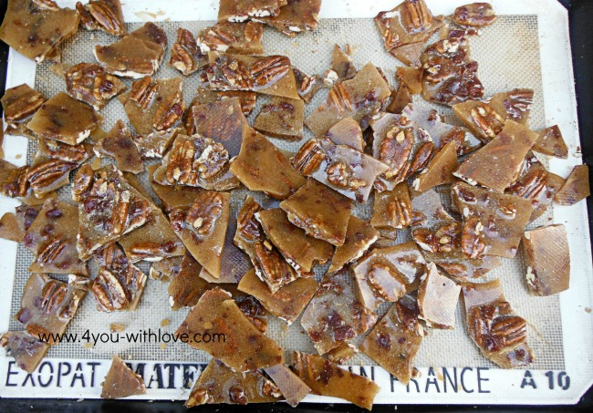 maple bacon brittle