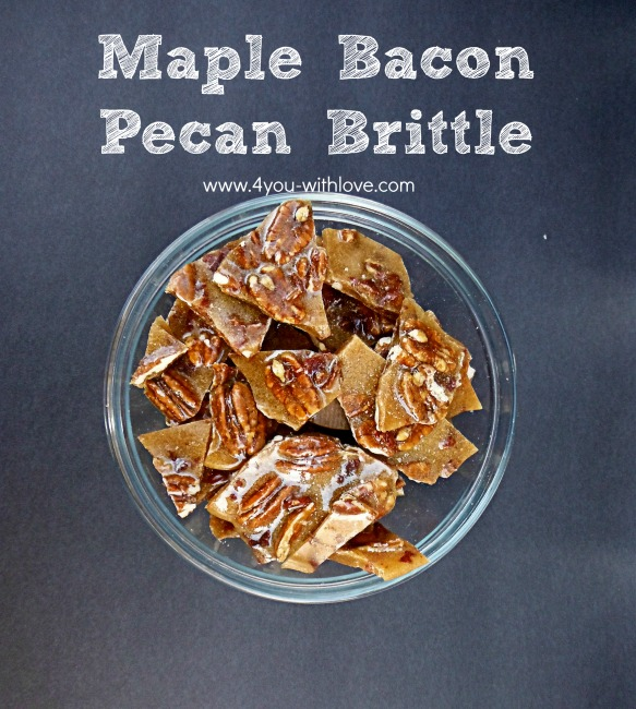 Maple Bacon Pecan Brittle