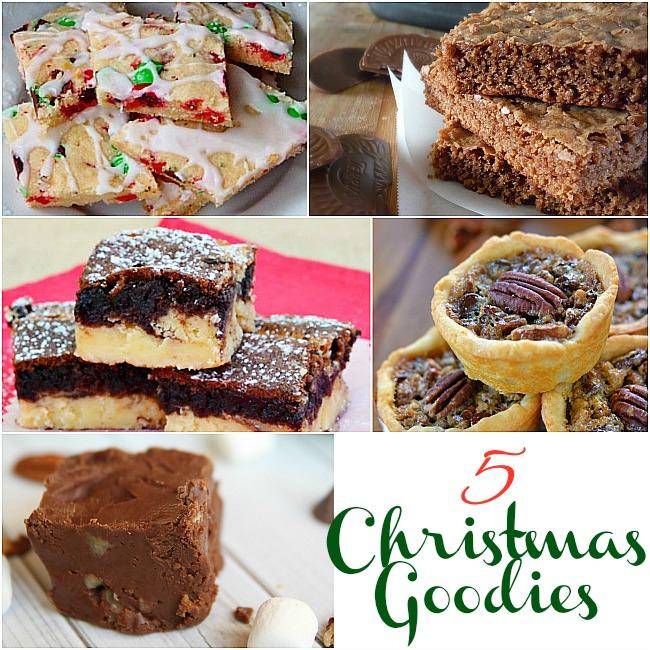 5 Christmas Goodies & The Project Stash