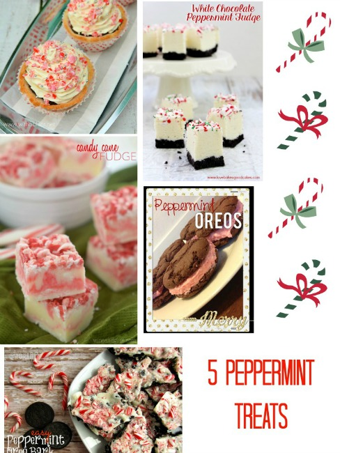 5 Peppermint Recipes & The Project Stash Link Party