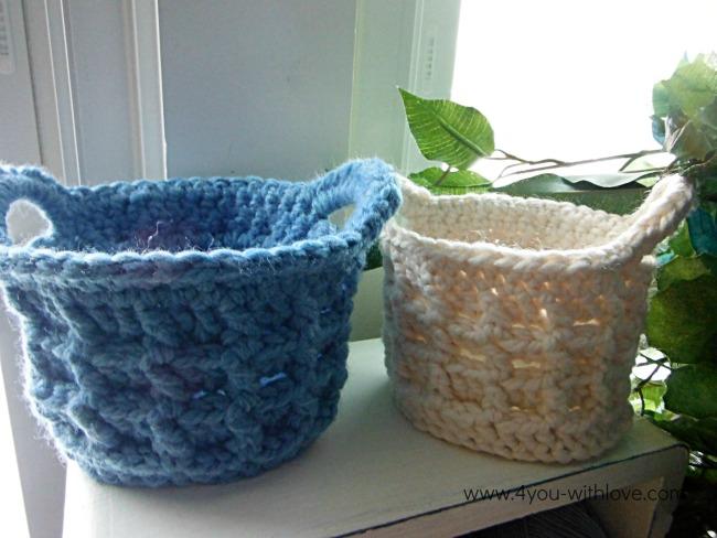Small Raised Box Stitch Basket