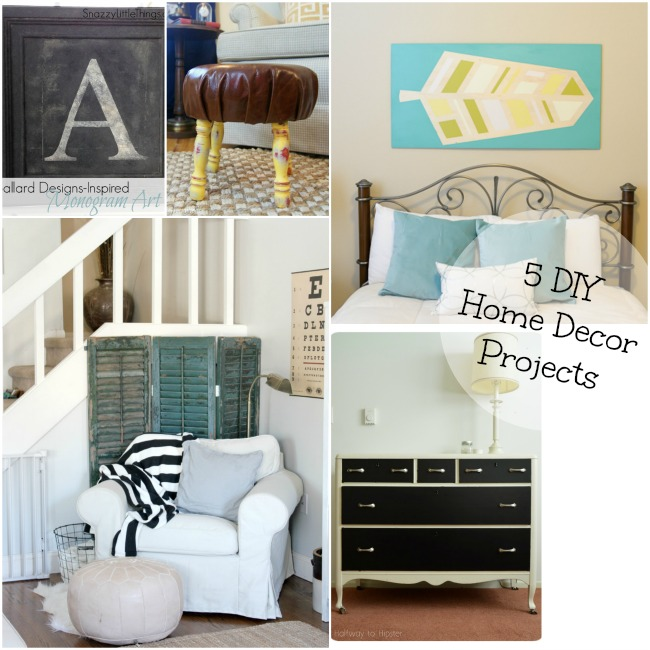 5 DIY Home Decor
