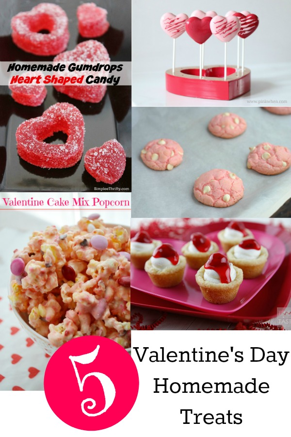 5 Homemade Valentine Treats