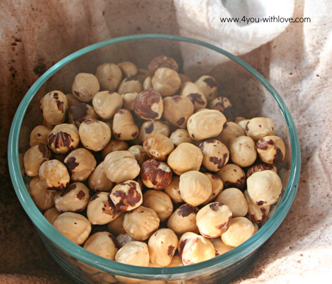 How to Remove Hazelnut Skins Without Blanching