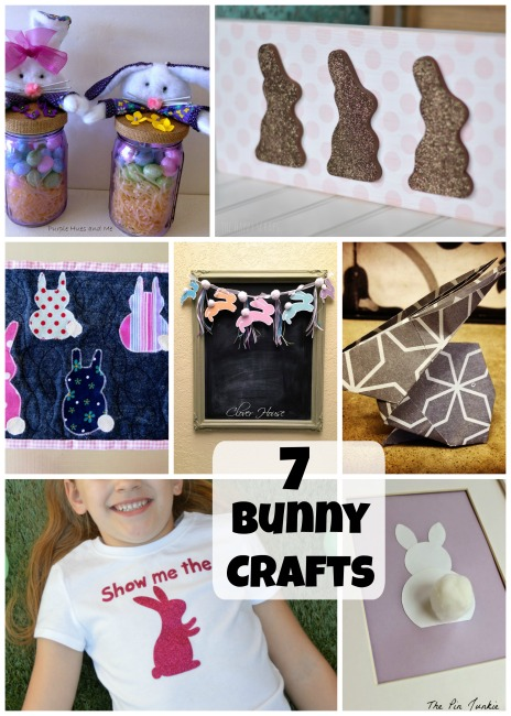 7 Bunny Crafts and The Project Stash Link Party