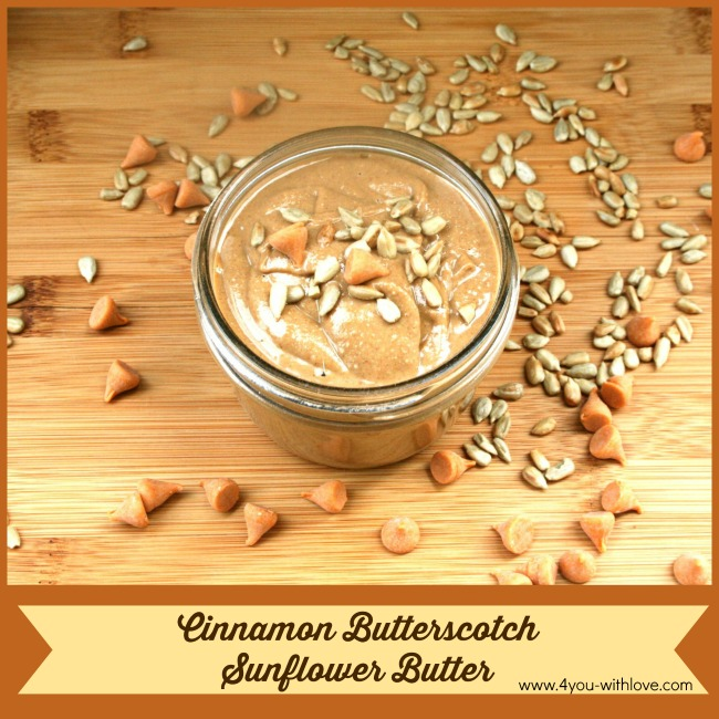 Cinnamon Butterscotch Sunflower Butter