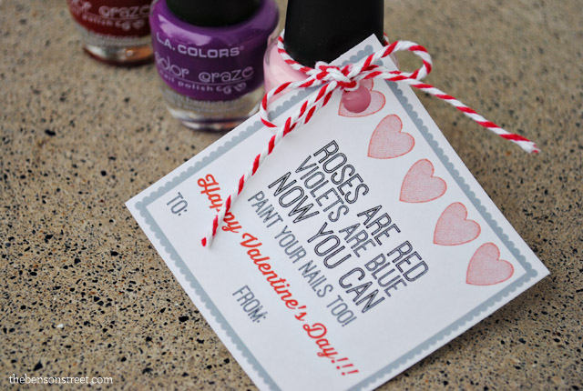 Cute-and-Easy-Nail-Polish-Valentine-plus-printable-tag-at-thebensonstreet.com_
