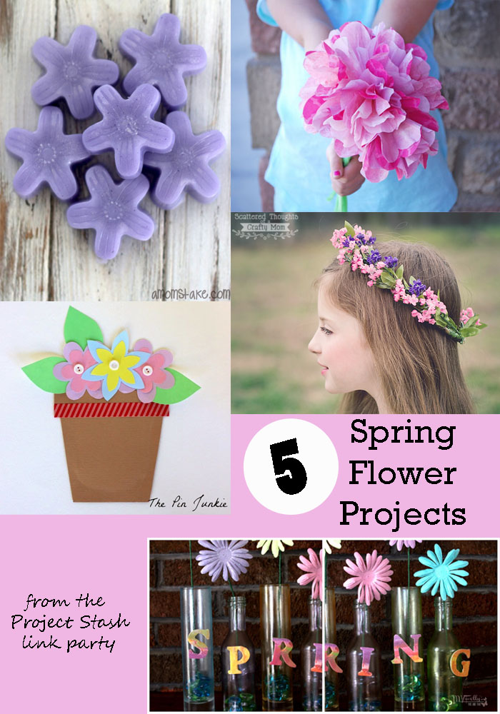5 Spring Flower Projects