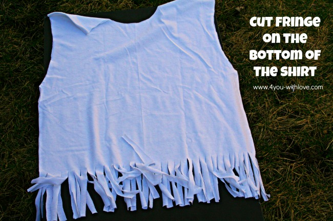 no sew t-shirt bag upcycle craft