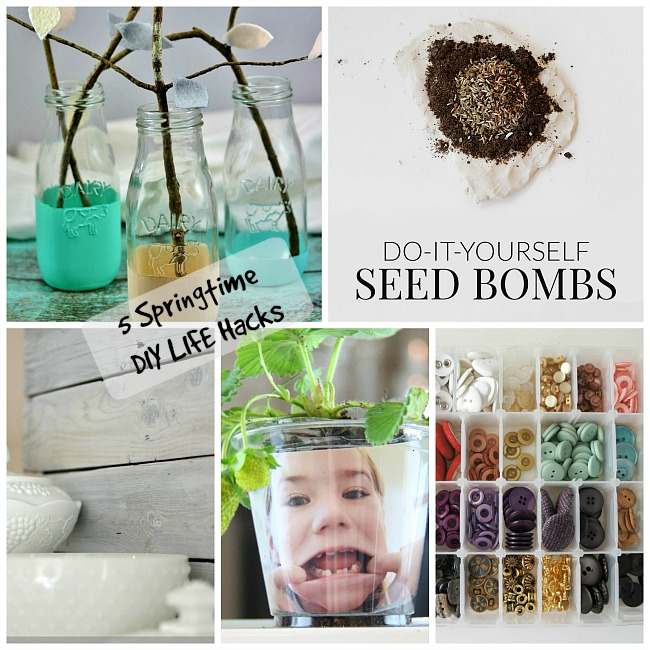 5 Springtime DIY Life Hacks + The Project Stash