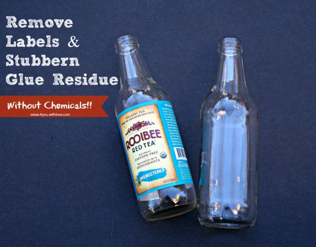 Remove Glue Residue Without Chemicals