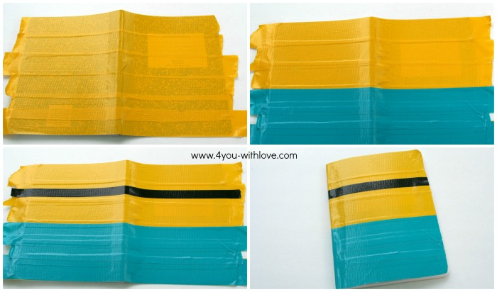DIY Minion Composition Book first steps