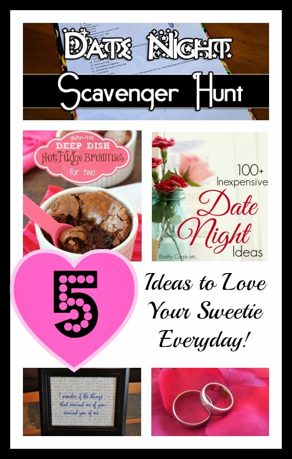 5 Ideas to Love Your Sweetie Everyday + The Project Stash