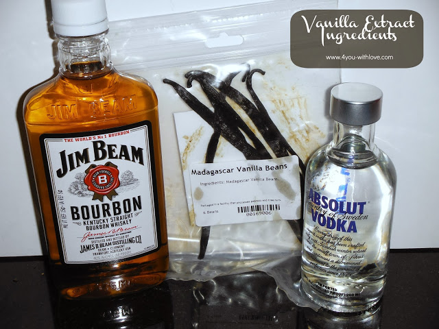 Vanilla Extract – Start the Process (#HomemadeHolidays)