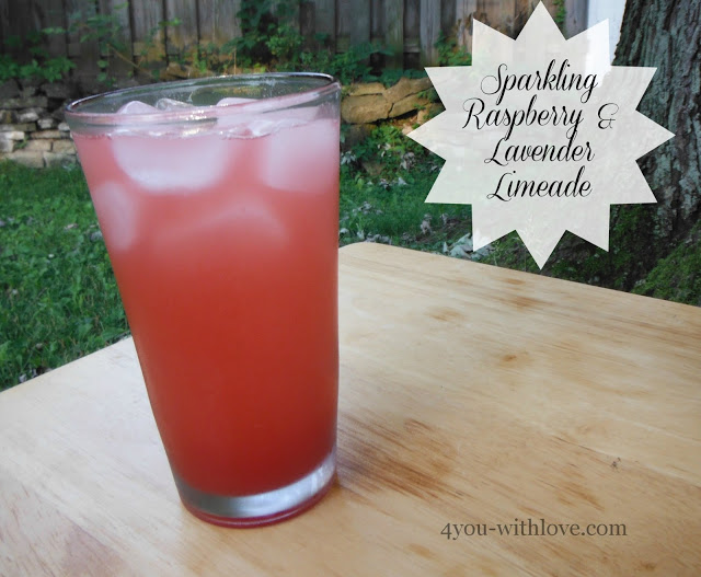 Party Thyme, Beat the Heat – Sparkling Raspberry & Lavender Limeade (and non-sparkling too!)