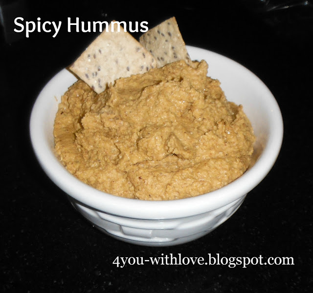 My Favorite Spices – Spicy Hummus Recipe 2