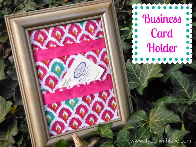 Business Card Holder & Fat Quarter Challenge Giveaway!