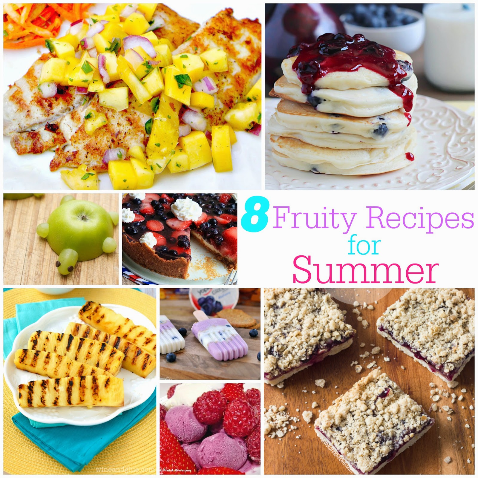 8 Fruity Recipes for Summer & The Project Stash Link Party