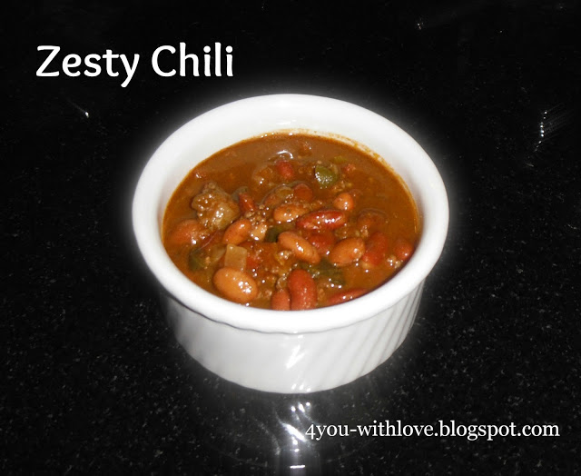 My Favorite Spices – Zesty Chili