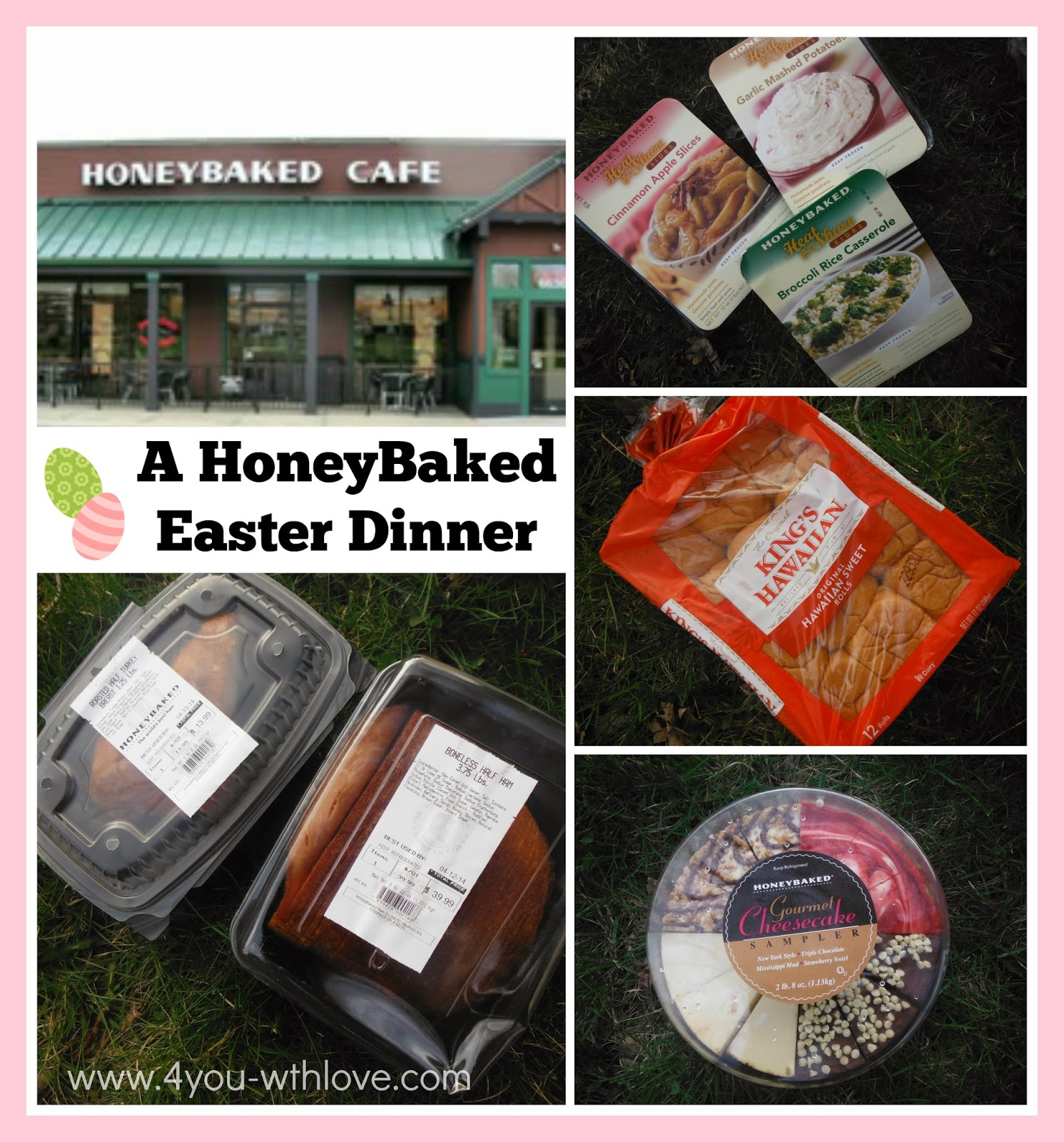 A HoneyBaked Easter Dinner is a Definite Winner Plus a $50 Giveaway!
