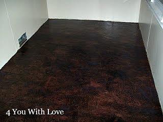 Paper Bag Floor Dyed Black – Trial