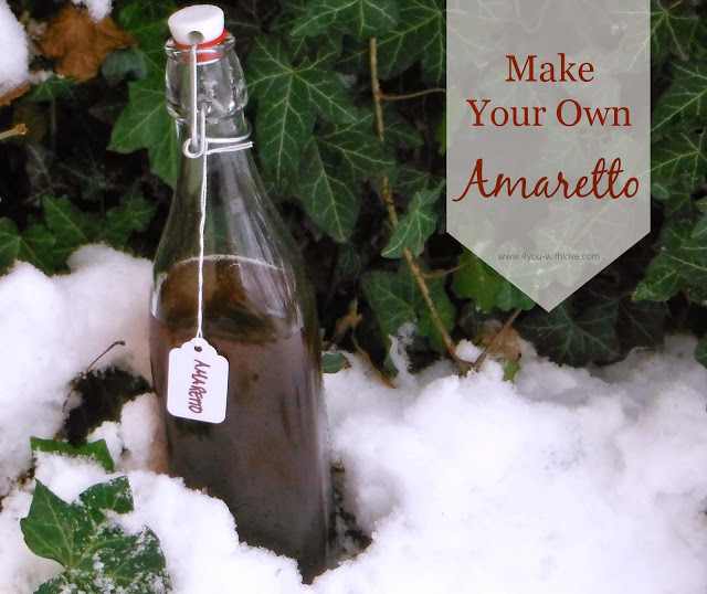 Make Your Own Amaretto (#HomemadeHolidays)