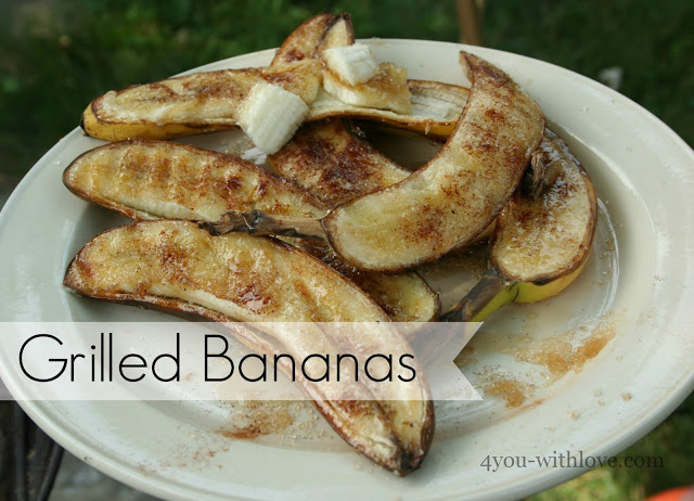 Party Thyme, Get Your Grill On – Grilled Bananas