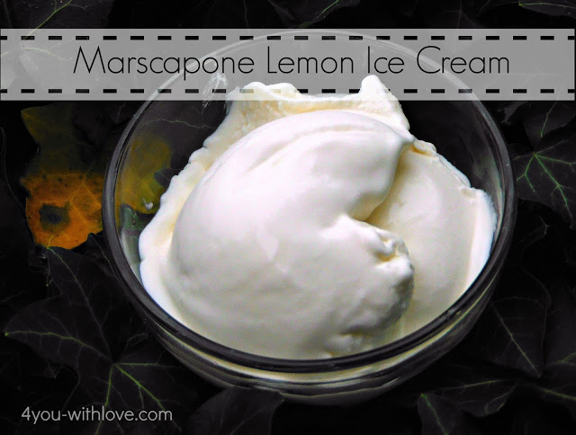 Party Thyme, Beat the Heat – Marscapone Ice Cream