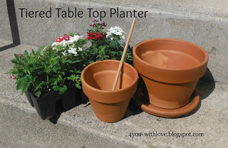 Tiered Table Top Planter Supplies