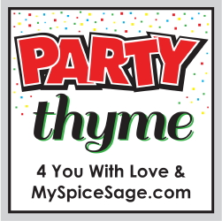 Party Thyme – October Theme, Featured Spices, AND Survey to Win a $25 Gift Card to MySpiceSage.com
