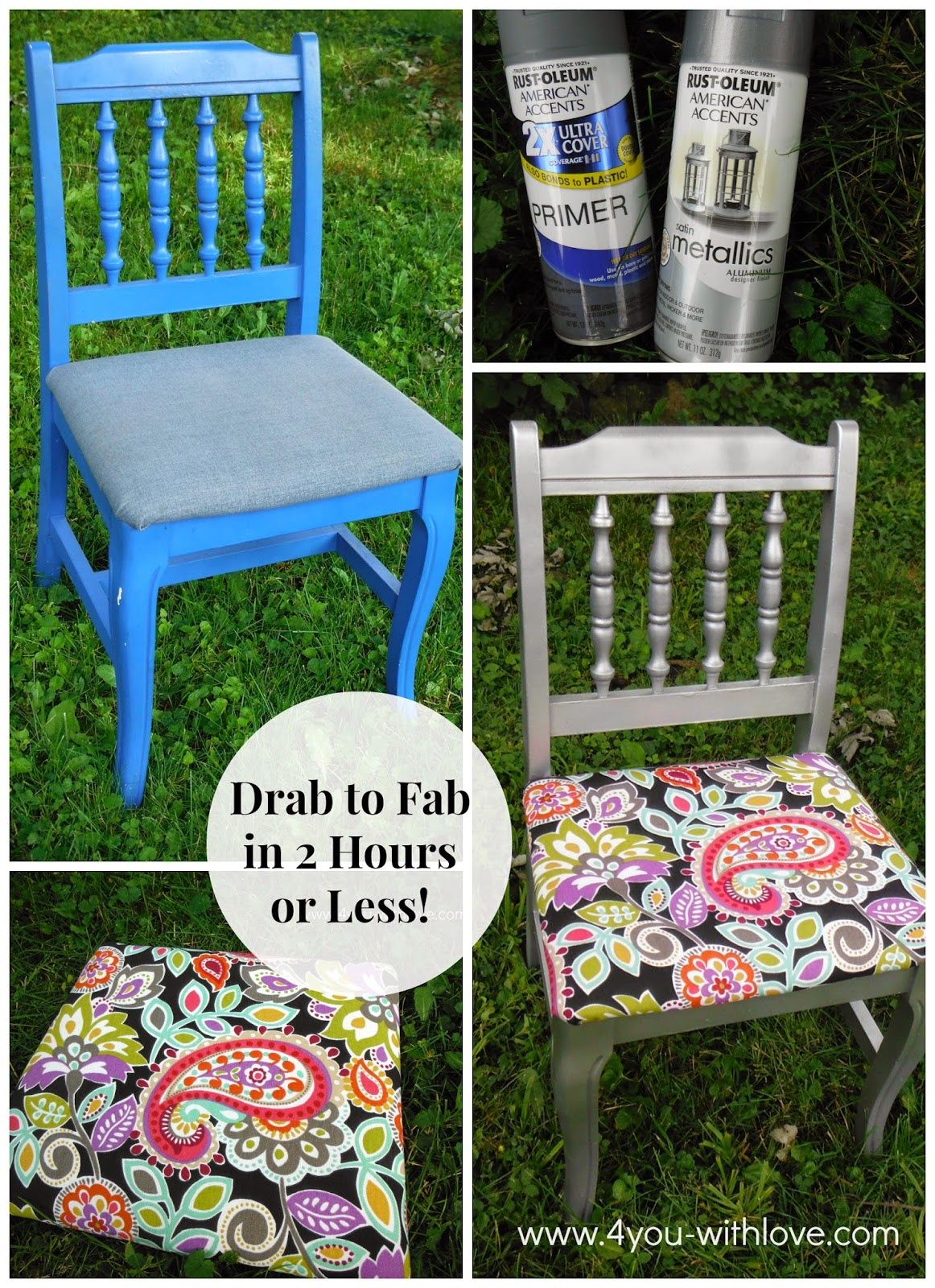 Reupholster a Dining Room Chair in 2 Hours or Less!