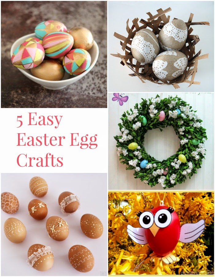 The Project Stash & 5 Easy Easter Crafts