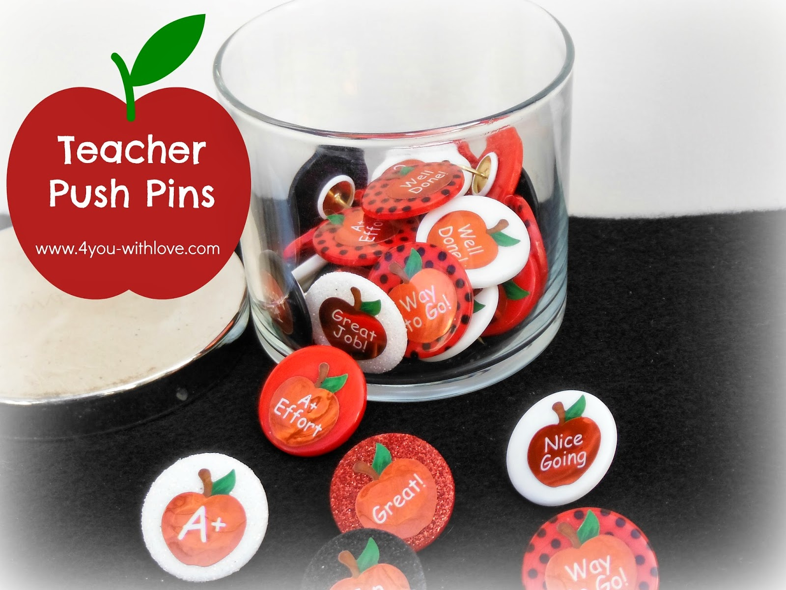 Teacher Push Pins in Under 15 Minutes