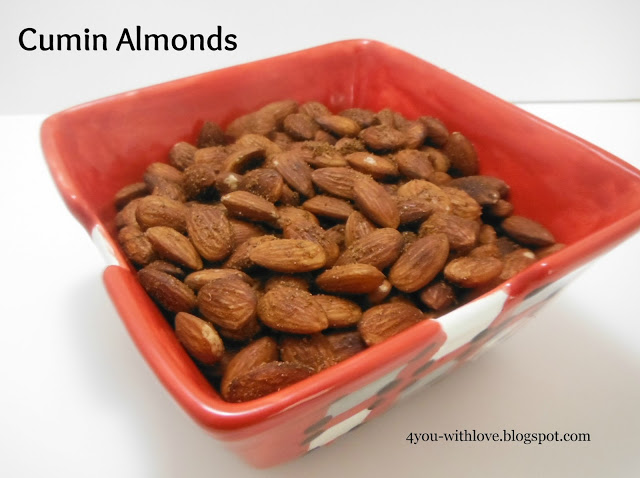 My Favorite Spices – Cumin Almonds