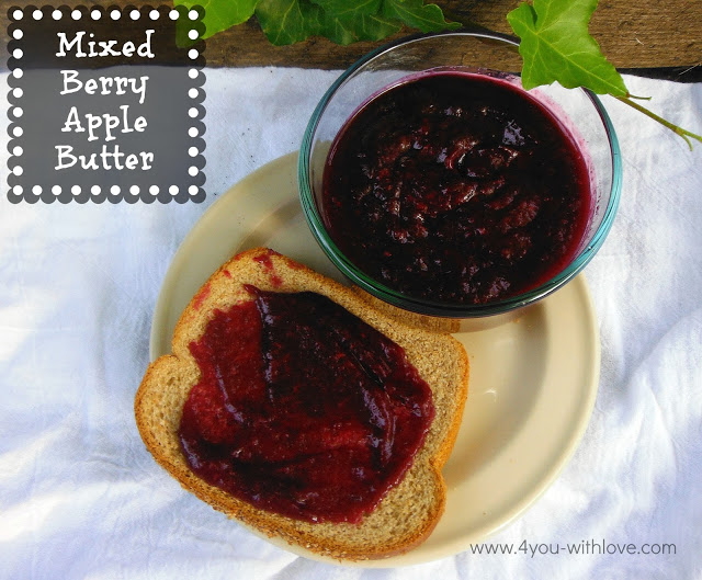 Party Thyme, Preserving the Summer – Mixed Berry Apple Butter