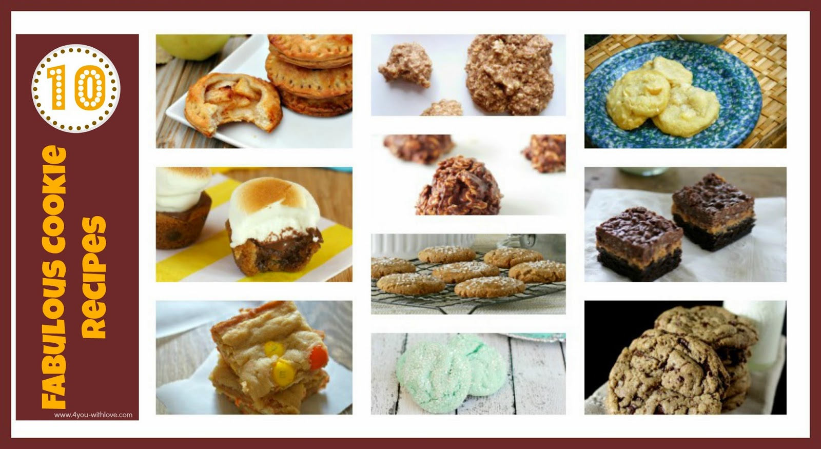 10 Fabulous Cookie Recipes AND a Kitchen Aid Mixer Giveaway!