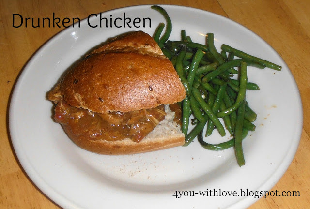 Drunken Chicken – J Gumbo Inspired