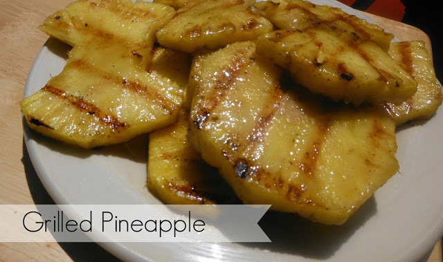 Party Thyme, Get Your Grill On – Grilled Pineapple