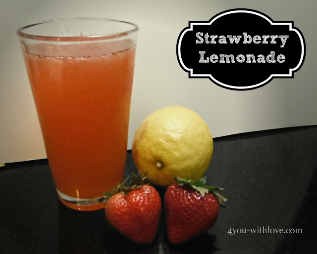 Party Thyme, Beat the Heat – Strawberry Lemonade