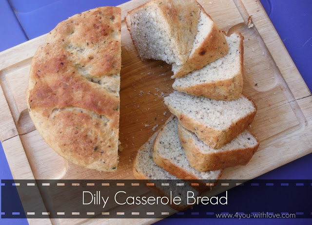Party Thyme, Preserving the Summer – Dilly Casserole Bread