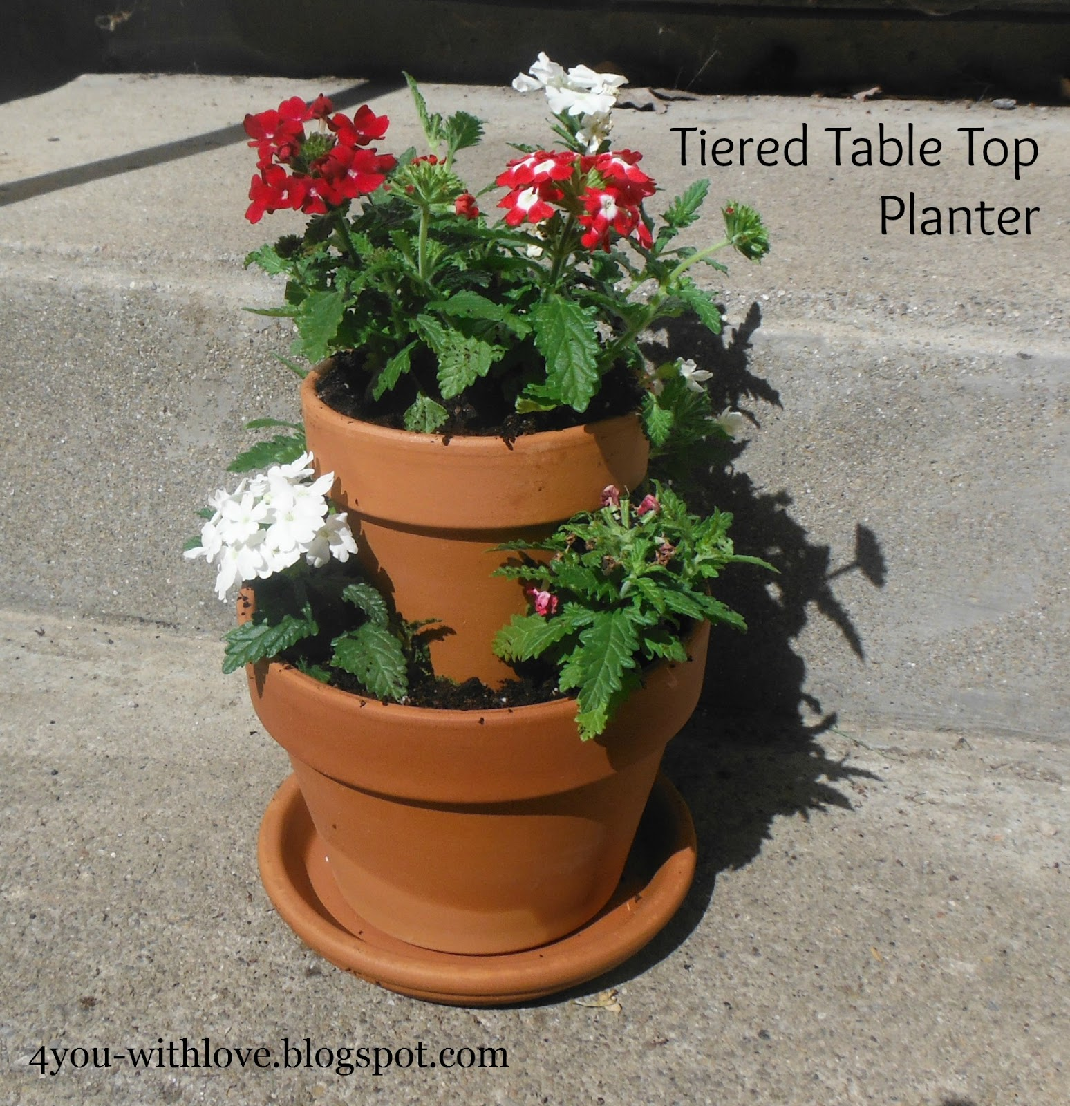 Tiered Table Top Planter – #Miracle-Gro