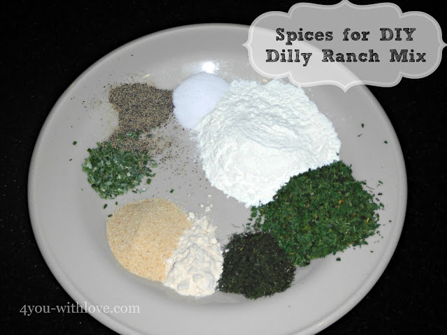Party Thyme, Beat the Heat – DIY Dilly Ranch Dressing Mix