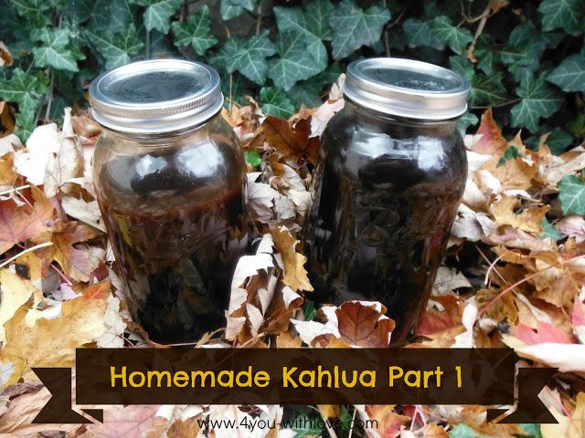 Homemade Kahlua Part 1