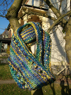Another 1 Skein Malabrigo Rasta Cowl
