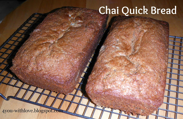 My Favorite Spices – Chai Quick Bread