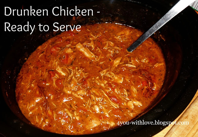 pulled chicken stewed chicken