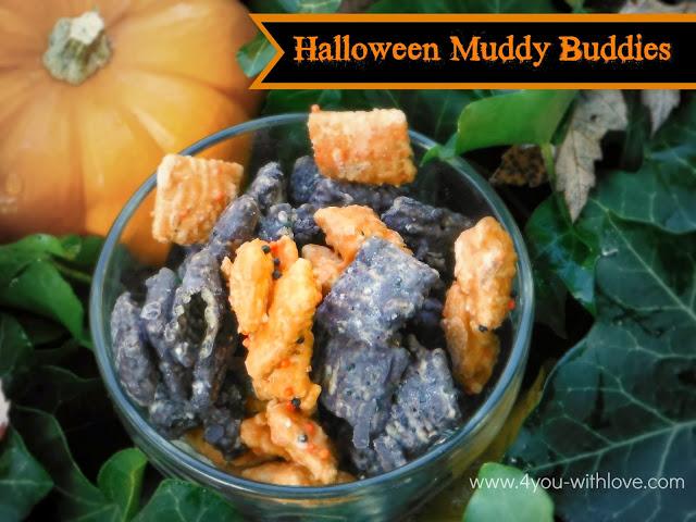 Halloween Muddy Buddies #wiltonhalloween13