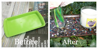 Ugly Plastic Tray No More!